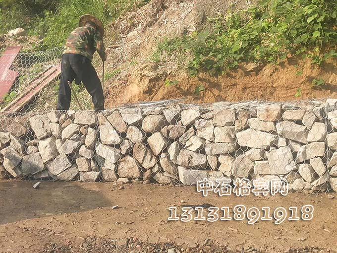 护岸宾格石笼